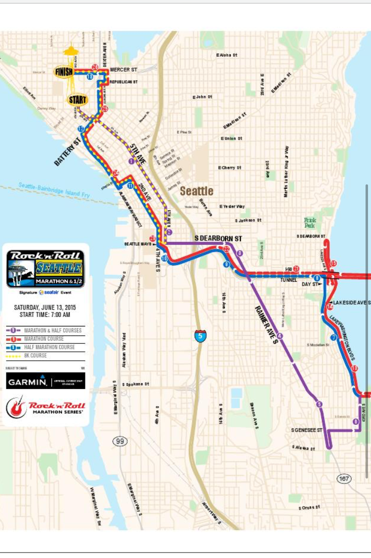 2015 Seattle Rock\'n\'Roll Half Marathon Race Recap – Happy Running Mom